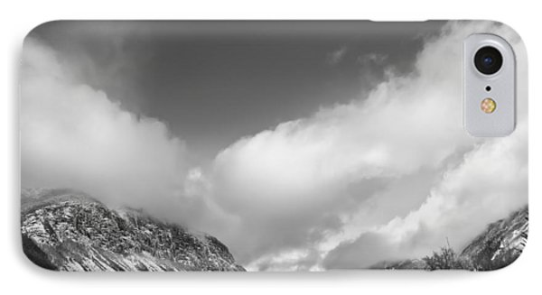 Franconia Notch IPhone Case by Robert Clifford
