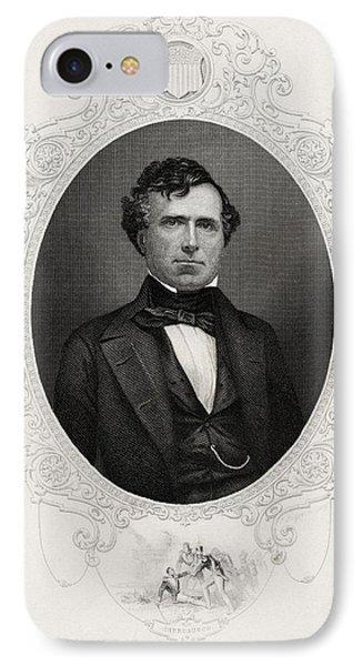 Franklin Pierce 1804-1869 14th IPhone Case