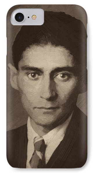 Franz Kafka IPhone Case by Afterdarkness