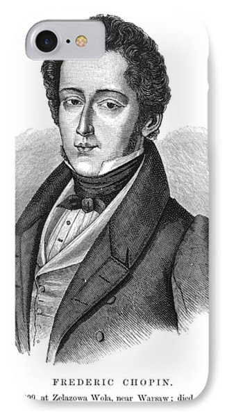 Frederic Chopin (1810-1849) Phone Case by Granger