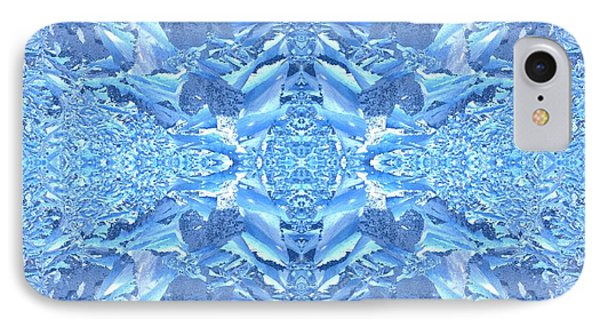 IPhone Case featuring the photograph Frost Feathers by Marianne Dow