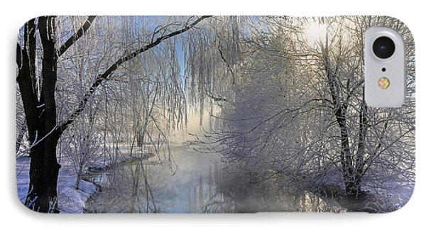 Frosty Morn 3 IPhone Case by Dan Myers