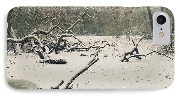 Frozen Fallen IPhone Case by Andy Smy