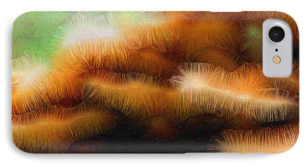 Fungus Tendrils Phone Case by Ron Bissett