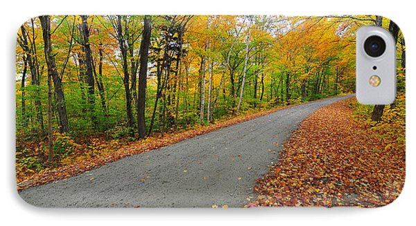 Gale River Road II IPhone Case by Catherine Reusch Daley
