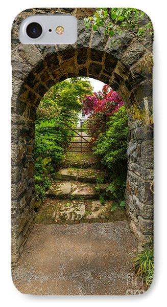 Garden Arch IPhone Case by Adrian Evans