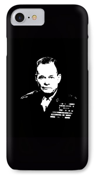 General Lewis Chesty Puller Phone Case by War Is Hell Store