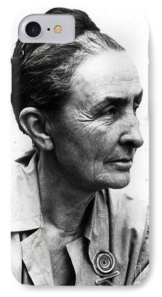 Georgia Okeeffe (1887-1986) Phone Case by Granger