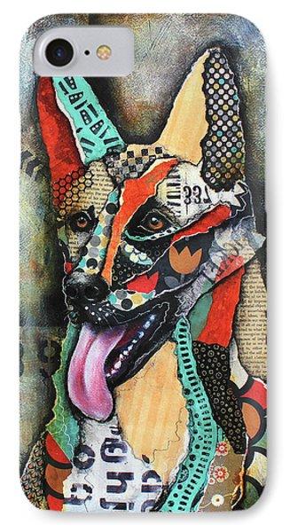 German Shepherd IPhone Case by Patricia Lintner