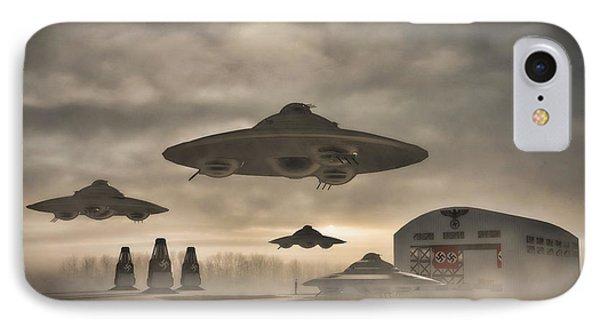 German Wwii Ufo By Raphael Terra IPhone Case