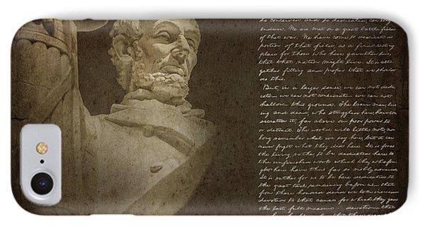 Gettysburg Address IPhone Case by Diane Diederich
