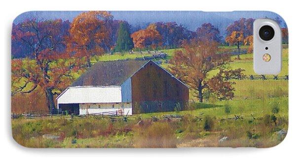 Gettysburg Barn Phone Case by Bill Cannon