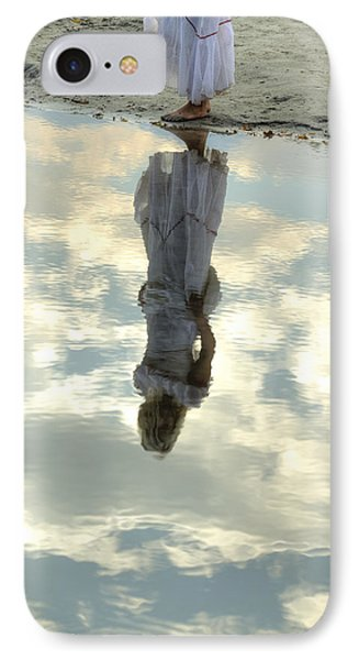 Girl And The Sky Phone Case by Joana Kruse