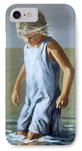 IPhone Case featuring the painting Girl by Natalia Tejera