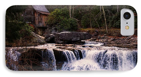 Glade Creek Grist Mill IPhone Case by Chris Flees