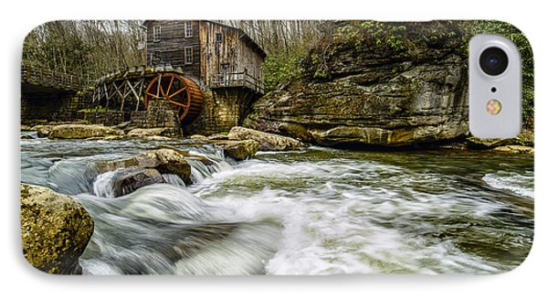 Glade Creek Grist Mill IPhone Case by Thomas R Fletcher