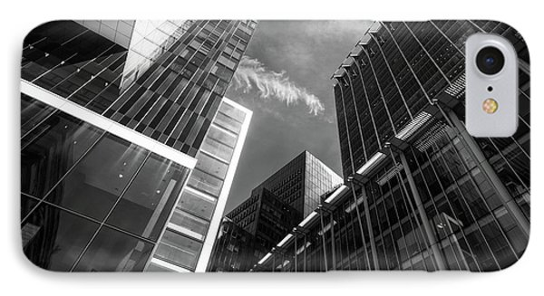 Glass Business Window Building Abstract London IPhone Case by John Williams