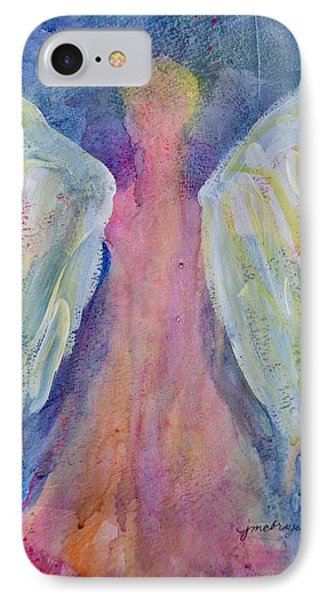 Glowing Angel Phone Case by Jeanne MCBRAYER