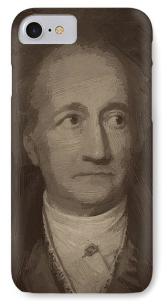 Goethe IPhone Case by Afterdarkness