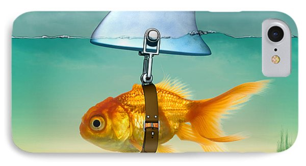 Gold Fish  IPhone Case by Mark Ashkenazi