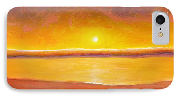 Gold Sunset Phone Case by Jaison Cianelli