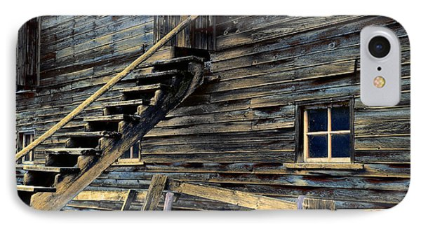 Golden Barn  IPhone Case by Wayne Sherriff