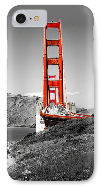 Golden Gate IPhone Case by Greg Fortier