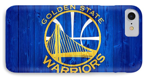 Golden State Warriors Door IPhone Case by Dan Sproul