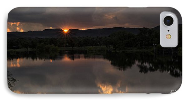 IPhone Case featuring the photograph Golden Sunset by Melany Sarafis