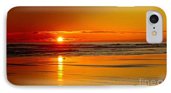 Golden Sunset Phone Case by Robert Bales
