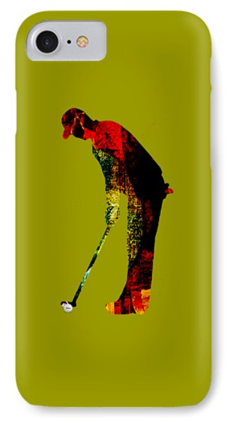 Golf Collection IPhone Case by Marvin Blaine