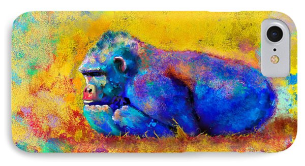 Gorilla Gorilla IPhone 7 Case by Betty LaRue