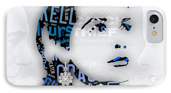 Grace Kelly Movies In Words IPhone Case