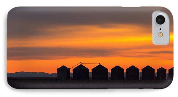 Granary Row IPhone Case by Todd Klassy