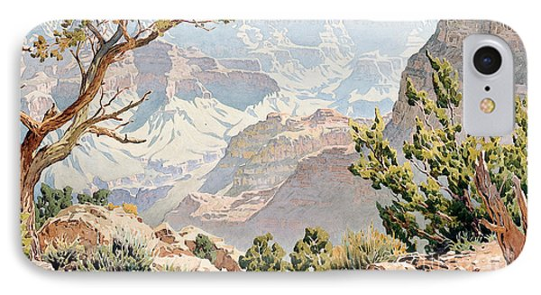 Grand Canyon IPhone Case by Gunnar Widforss
