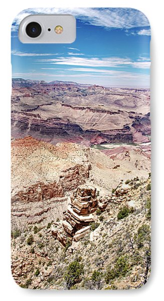 Grand Canyon View From The South Rim, Arizona IPhone Case by A Gurmankin