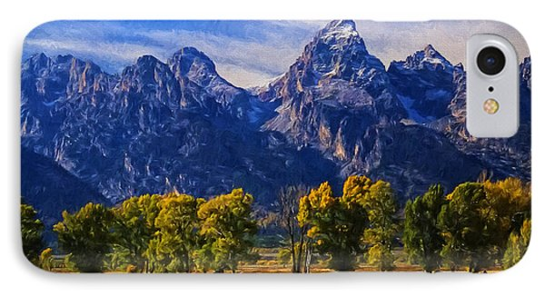 Grand Teton National Park Bison IPhone Case by Priscilla Burgers
