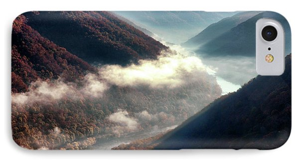 Grandview New River Gorge Phone Case by Thomas R Fletcher