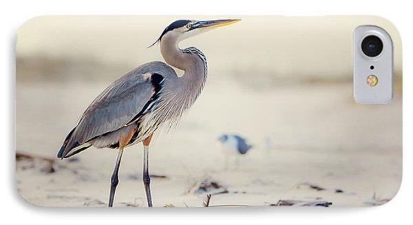 Great Blue Heron  IPhone Case by Joan McCool