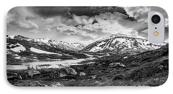 IPhone Case featuring the photograph Green Carpet Under The Cotton Sky by Dmytro Korol