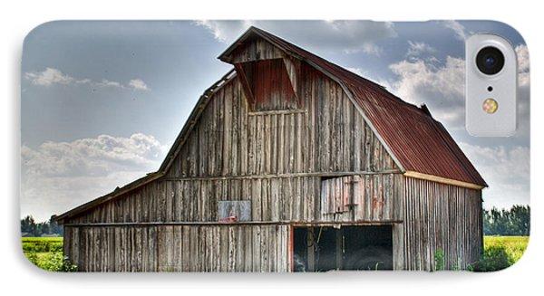 Grey Barn Phone Case by Douglas Barnett