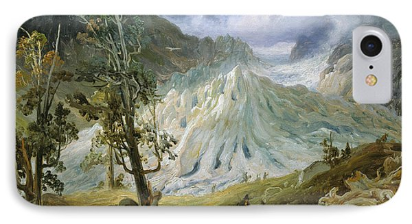 Grindelwald Glacier IPhone Case