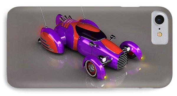 Grobo Car IPhone Case by Ken Morris