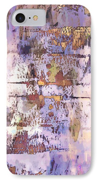 Grungy Abstract  IPhone Case by Tom Gowanlock