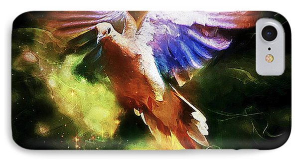 Guardian Angel IPhone Case by Tina  LeCour