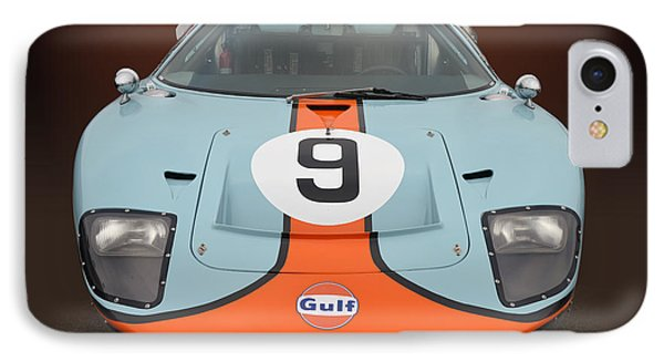 Gulf G T 40 IPhone Case by Bill Dutting