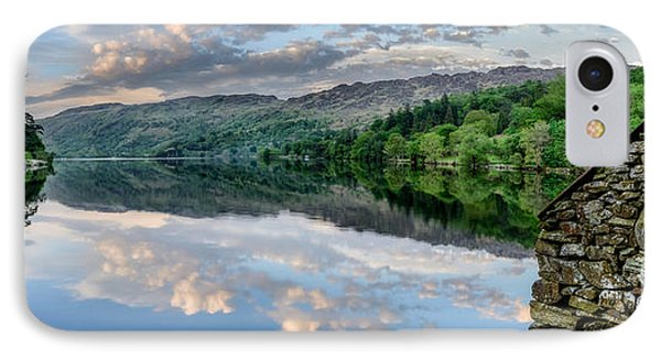 Gwynant Lake  IPhone Case by Adrian Evans