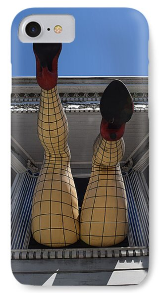 IPhone Case featuring the photograph Haight And Ashbury Legs by Dany Lison