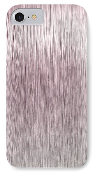 Hair Perfect Straight IPhone Case by Allan Swart