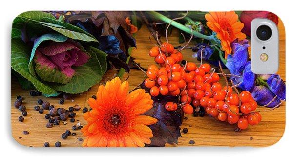 Halloween Decoration IPhone Case by Tamara Sushko